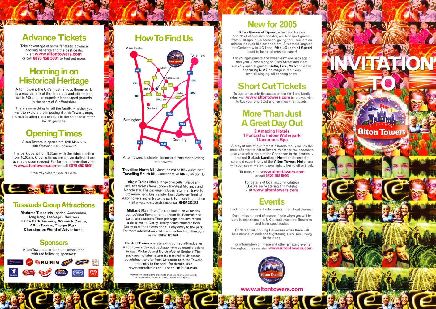 essay on tourist leaflet